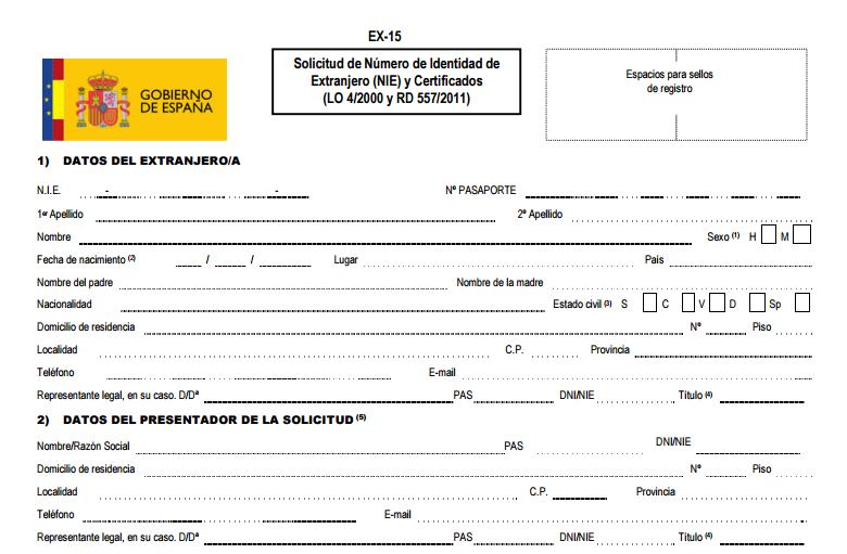 NIE procedure In Spain. – BCNEXPERIENCE
